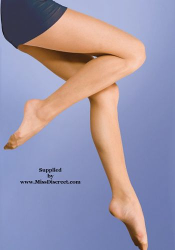 Super Shine Tights 15 Denier - Medium - Melon - Natural Tan